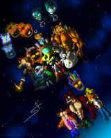 Crash Bandicoot 2nd generation by DSA09