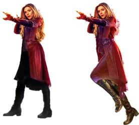Infinity War Scarlet Witch (5) (UPDATED) - PNG by Captain-Kingsman16