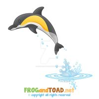 Dauphin - Dolphin FROGandTOAD by FROG-and-TOAD