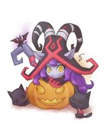 Halloween Lulu 2016 by InnocenceEvil