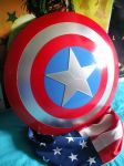 Captain America shield by Age-Velez