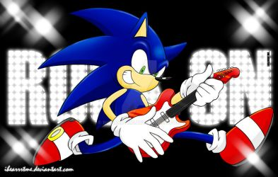 Rock On Sonic by ihearrrtme