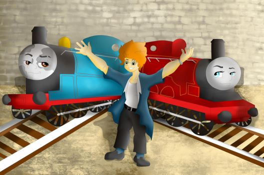 Welcome Two: Sodor! by Butterfrogmantis