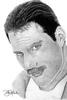 Freddie Mercury by B-Richards