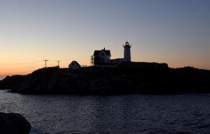 At Sunrise, Nubble Light 3 by Miss-Tbones