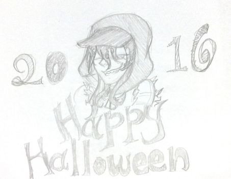 Happy Halloween 2016 Sketch by dexsss