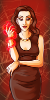 What's a little blood magic by naomi-makes-art73