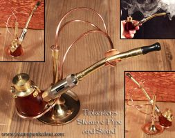 Tinkerton's Steam-e-Pipe by Steampunked-Out