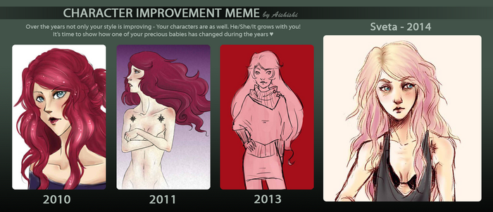 OC improvement meme - Sveta by N-XIVCCI