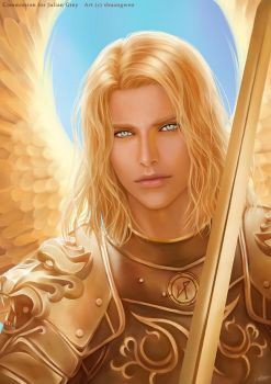 Archangel Michael by shuangwen