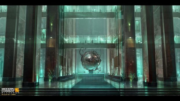 10 [MC5Blackout] GilmanSC Entrance Lobby 04 by ginostratolat