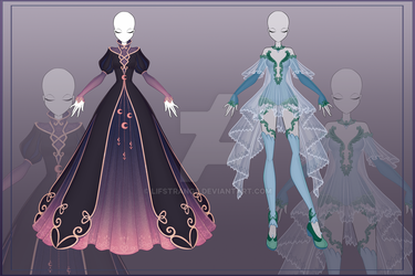 [Close]  Adoptable Outfit Auction 20-21 by LifStrange