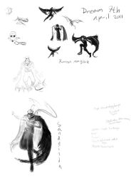Dream characters by Ludjia