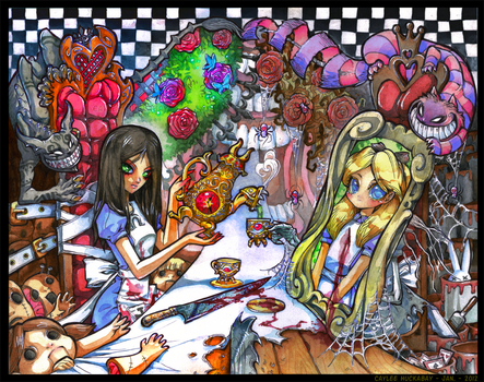 Things have changed, Alice by bezzalair