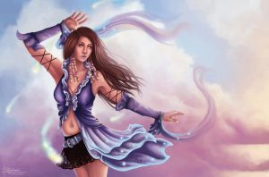 Lenne - Final Fantasy X-2 by PetraImboden
