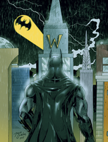 Batman - rain night by BIG-D-ARTiZ