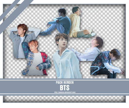 SHARE RENDER BTS LOVE YOURSELF POSTER 2 by yooncua