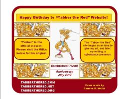 Tabber-the-Red-Anniversary-Ecard by CopperSphinx
