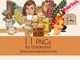 PNG Pack # 06 by blackyaisa