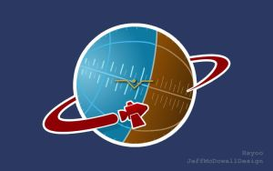 Spaceship II - Kerbal-inspired Logo by jeffmcdowalldesign