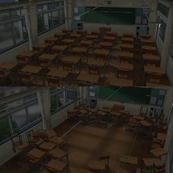 CM3D2 : Stage (Class Room) by Jalmod