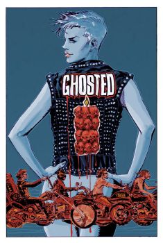 Ghosted 11 Cover by urban-barbarian