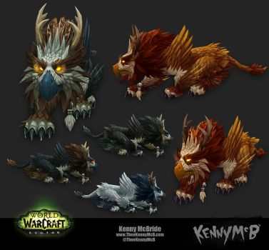 Feral Druid Artifact Form - Moonspirit by TheeKennyMcB