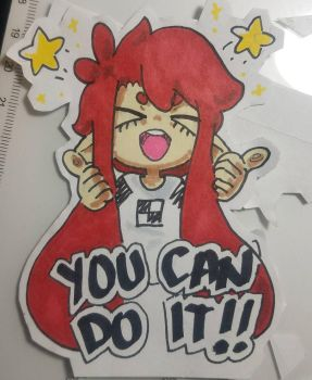 Do your best, everyone!! by miserablephantom
