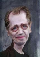 Buscemi Caricature by StDamos