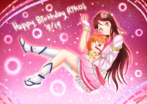 Happy Birthday, Riko! by John-Hayabusa