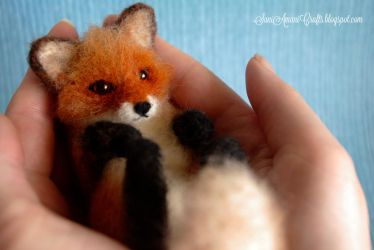 Red fox II by SaniAmaniCrafts