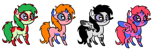 7 Point Adopts! by craftygirljml