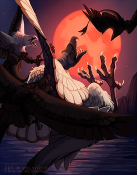 [Gryph Attack] Blood Moon by VulonVen
