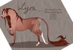 Lyra Official Ref [Feral] by Maevaii