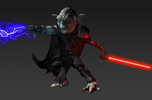 Darth Necros posed by RedHeretic