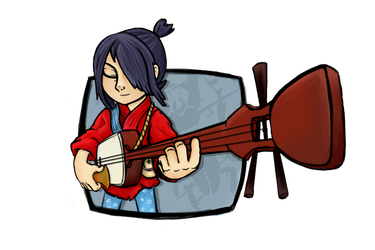 Kubo and the Two Strings - FanArt by JoeStrings