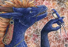 ACEO for Forestia by Dragarta