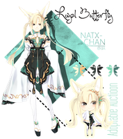 [CLOSED] adoptable LOYAL BUTERFLY by Natx-chan