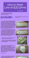 How to Make Lots of BJD Skirts by RodianAngel