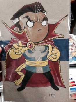 Dr Strange Lil Dude by MARR-PHEOS