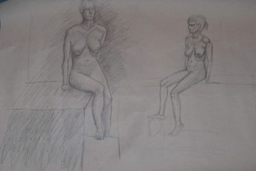 Life drawing 2 by jablar