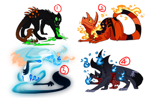 Halloween Mystery Adopts OTA (CLOSED) by The3Ss-Adopts