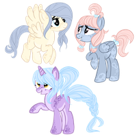 .: Simple Poney Designs AUCTION ( open 3/3 ) :. by maiithevamp
