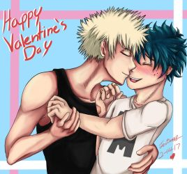 Happy Valentine's Day by KamuiYamato