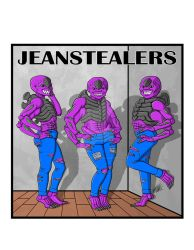 Commission - JeanStealers by The-Great-Geraldo