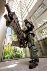 Halo Spartan 1a by jagged-eye