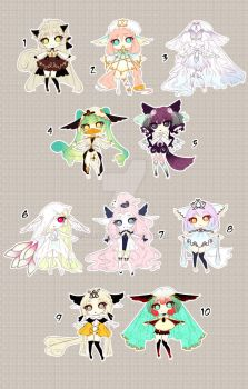 [CLOSED TY] Adoptable 76 - Kemonomimi by Puripurr
