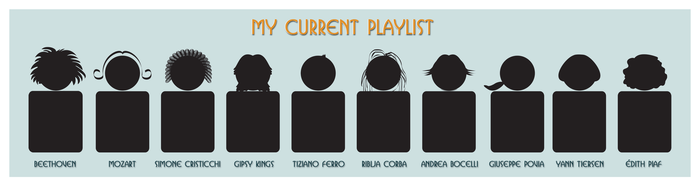 My Current Playlist by valeka