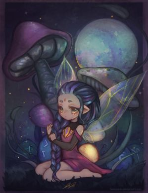 firefly fairy by jemajema
