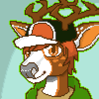 [Special free icon 3/3] Shadow The Deer by TheKarishad